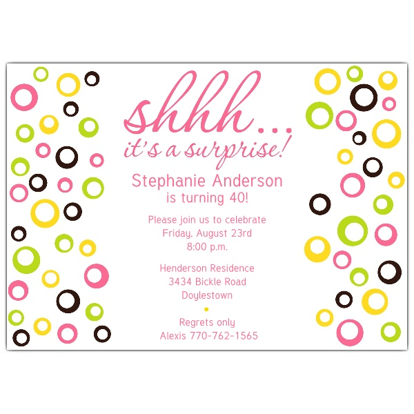 surprise birthday card template ; 610-75-271PW-z