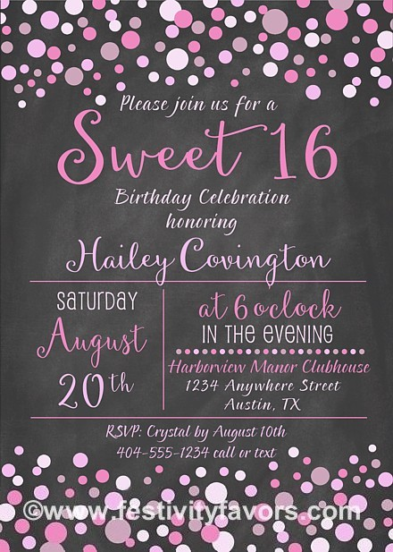 sweet 16 birthday invitation ideas ; 16-birthday-party-invitations-as-your-ideas-amplifyer-for-your-bewitching-Party-invitation-17