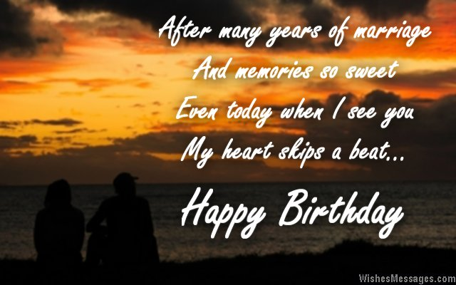 sweet birthday message for husband ; Romantic-birthday-wish-to-wife-from-husband