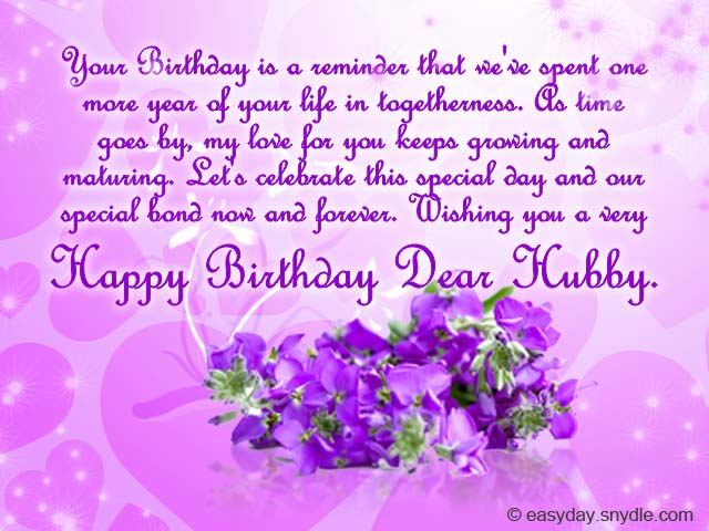 sweet happy birthday message for husband ; birthday-card-for-husband
