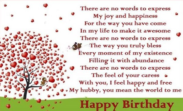 sweet happy birthday message for husband ; sweet-ways-to-say-happy-birthday-to-your-husband