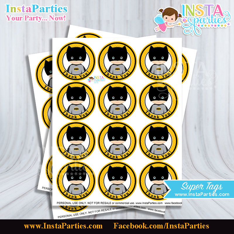 tag birthday ; batman-favor-tags-printable-batman-party-favors-tag-birthday-file-superheroes-labels-stickers-party-super-boy-digital-decor-supplies-cute-580563313