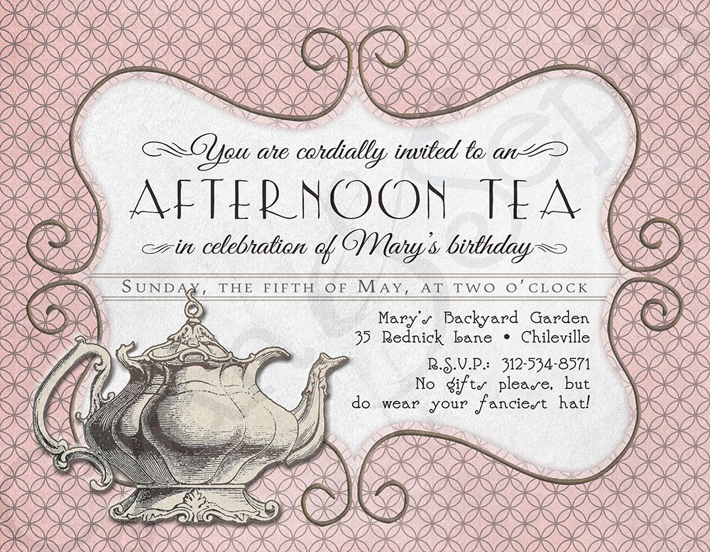tea party birthday invitation template ; 0239dad5eb62c88df778b71b3fc0a120