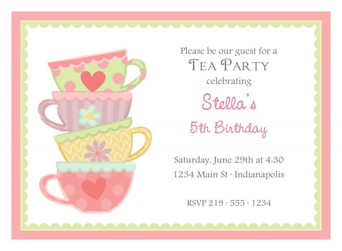 tea party birthday invitation template ; 380f4279b9d46307e8e5e7247f7a3363