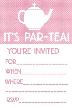 tea party birthday invitation template ; 8890c5133c6ffd1ee3b916f60d512d22