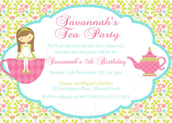 tea party birthday invitation template ; free-tea-party-invitations-to-print-free-printable-tea-party-invitation-templates-tea-party-birthday