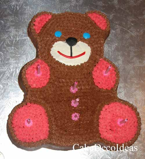 teddy bear birthday cake template ; Teddy_Bear_Cake11
