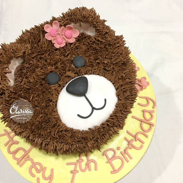 teddy bear birthday cake template ; bear-birthday-cake-best-25-bear-cakes-ideas-on-pinterest-teddy-bear-birthday-cake-dessert