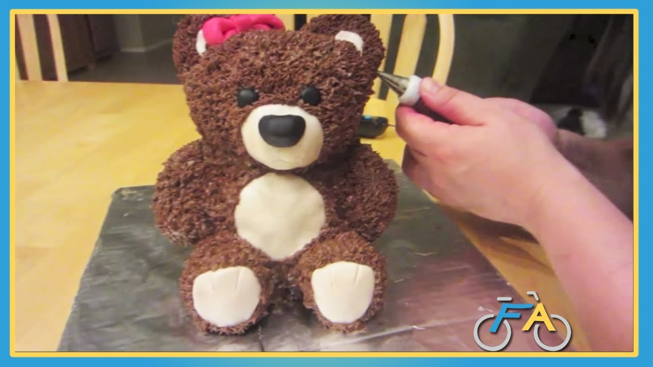 teddy bear birthday cake template ; maxresdefault