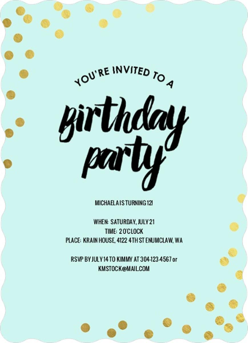 teenage birthday invitation templates ; teen-birthday-invitations-together-with-a-picturesque-view-of-your-Birthday-Invitation-Templates-using-interesting-invitations-2