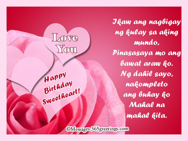 text message for girlfriend birthday ; tagalog-birthday-greetings-for-girlfriend