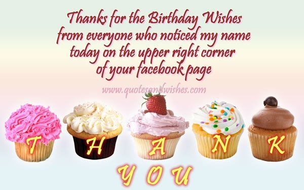 thank you for greeting my birthday quotes ; fc98c4bf1f1c5bce97c3b96823a50268
