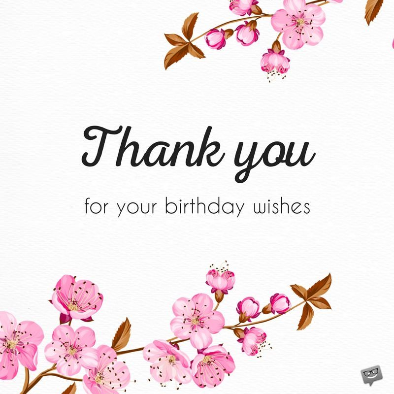 thank you for greeting my birthday quotes ; thank-you-message-bday