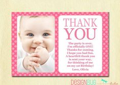 thank you message for attending 1st birthday ; 42feba331fbca4f6332008dcbf83610c--st-birthday-thank-you-cards-st-birthday-quotes