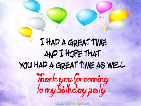 thank you message for attending 1st birthday ; thank-you-messages-for-coming-to-my-birthday-party