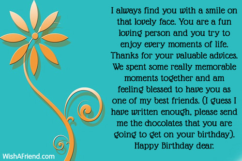 thank you message for birthday celebrant ; 11717-friends-birthday-messages