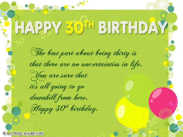 thank you message for birthday celebrant ; 30th-birthday-messages