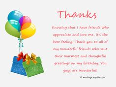 thank you message to friends for surprise birthday party ; 356c05deabc3cc823dc13d6418aedfcd--messages-for-birthday-birthday-wishes