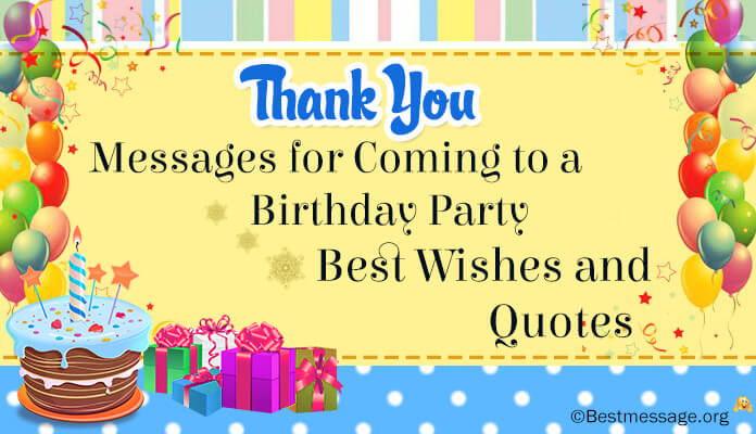 thank you message to friends for surprise birthday party ; thank-you-messages-coming-birthday-party