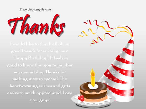 thanks to all for birthday wish ; sample-of-thank-you-messages-for-birthday-wishes