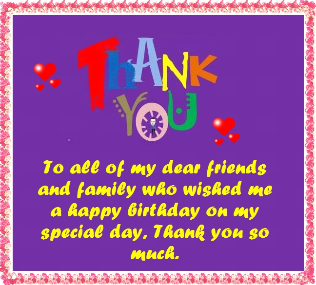 thanks to all for birthday wish ; thanks-notes-birthday-wishes