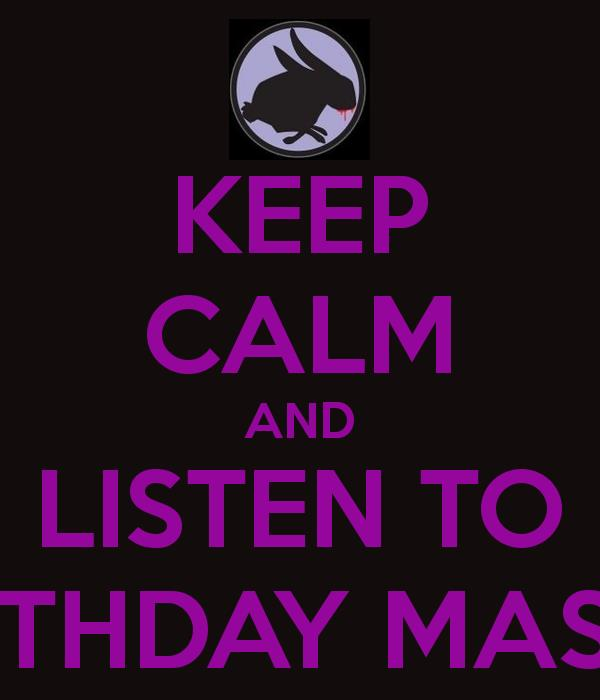 the birthday massacre poster ; keep-calm-and-listen-to-the-birthday-massacre