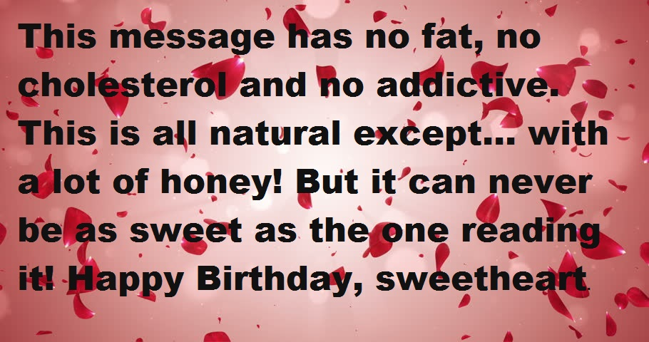 the most romantic birthday message ; Loving-birthday-wishes-for-her