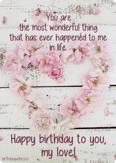 the most romantic birthday message ; birthday-message-for-girlfriend