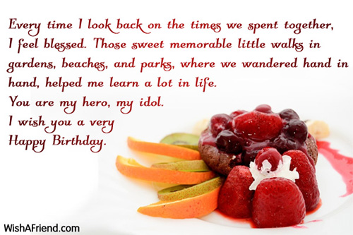the sweetest birthday message ; 168-dad-birthday-messages