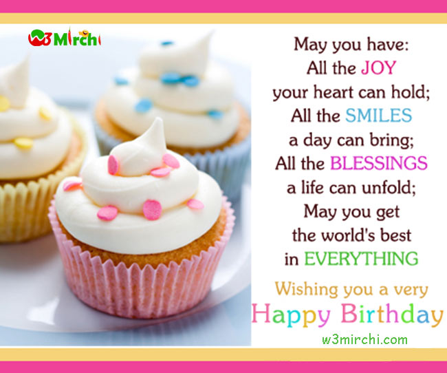 the sweetest birthday message ; 17074-happy-birthday-image-with-quote