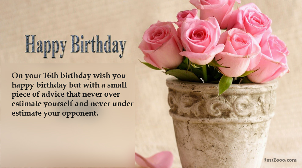 the sweetest birthday message ; Sweet-16th-Birthday-Messages