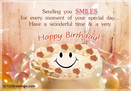 the sweetest birthday message ; a-sweet-birthday-message-for-a-friend-102942
