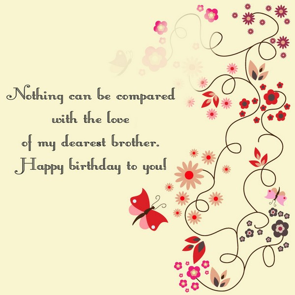 the sweetest birthday message ; happy-birthday-wishes-to-brother