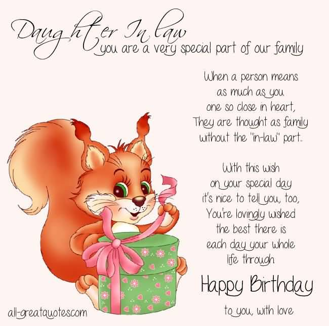 the sweetest birthday message ; sweet-birthday-wishes-for-special-daughter-in-law-quotes-greetings