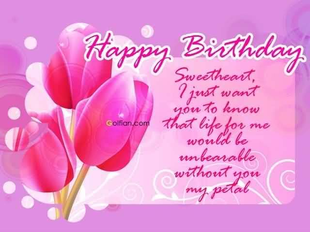 the sweetest birthday message ever ; Sweet-Wishes-E-Card-Birthday-Wishes-For-Fiance