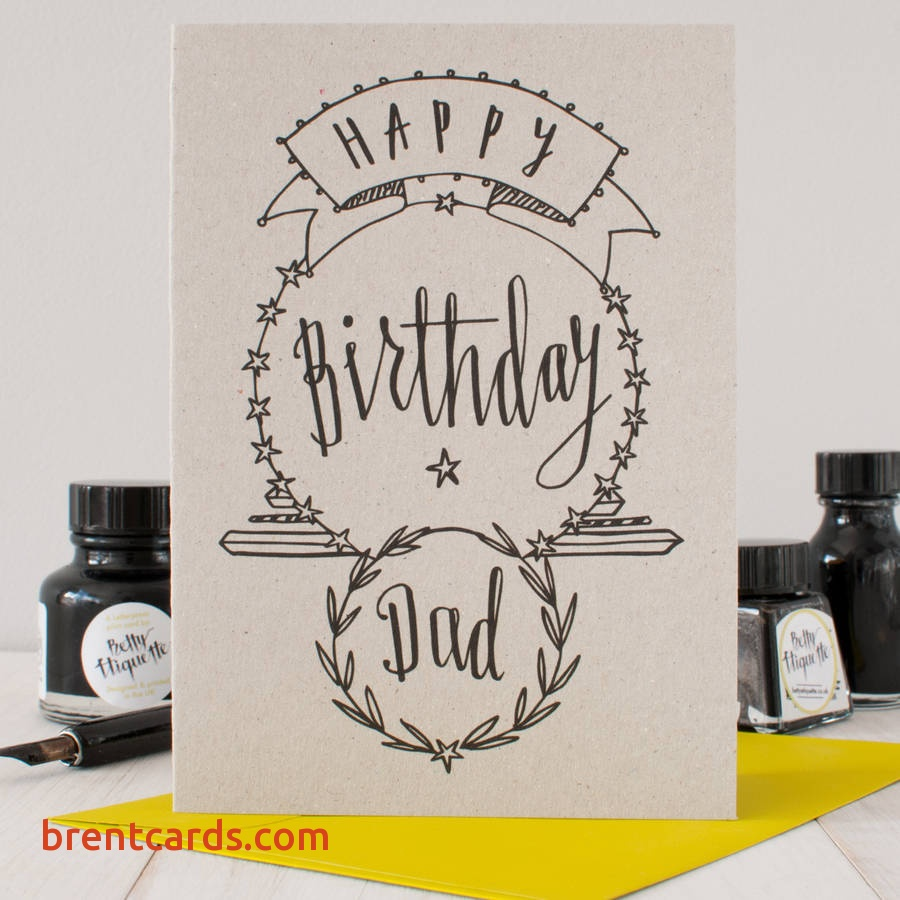 things to draw for your dad's birthday ; happy-birthday-dad-drawing-53