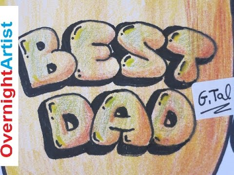 things to draw for your dad's birthday ; hqdefault