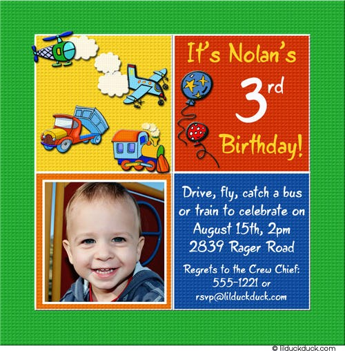 Third Birthday Invitation Wording Boy Cozy 3Rd