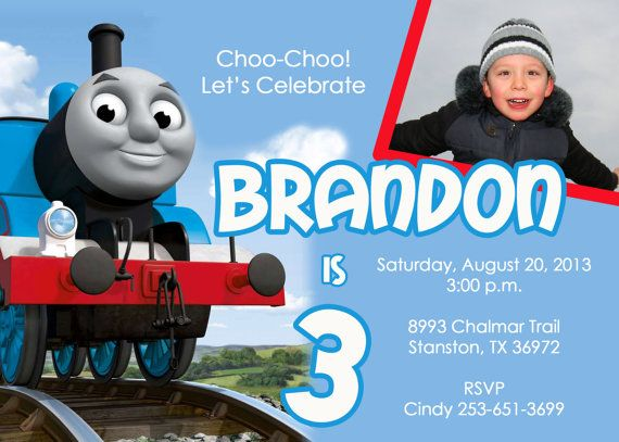 thomas and friends birthday invitation templates ; 2f349981747ee8361a2489a7be91acd6