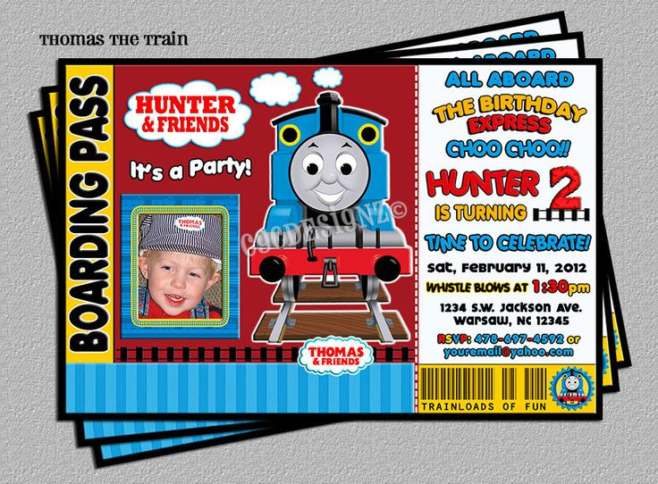 thomas and friends birthday invitation templates ; Glamorous-Thomas-Birthday-Invitations-Which-Can-Be-Used-As-Free-Birthday-Invitations