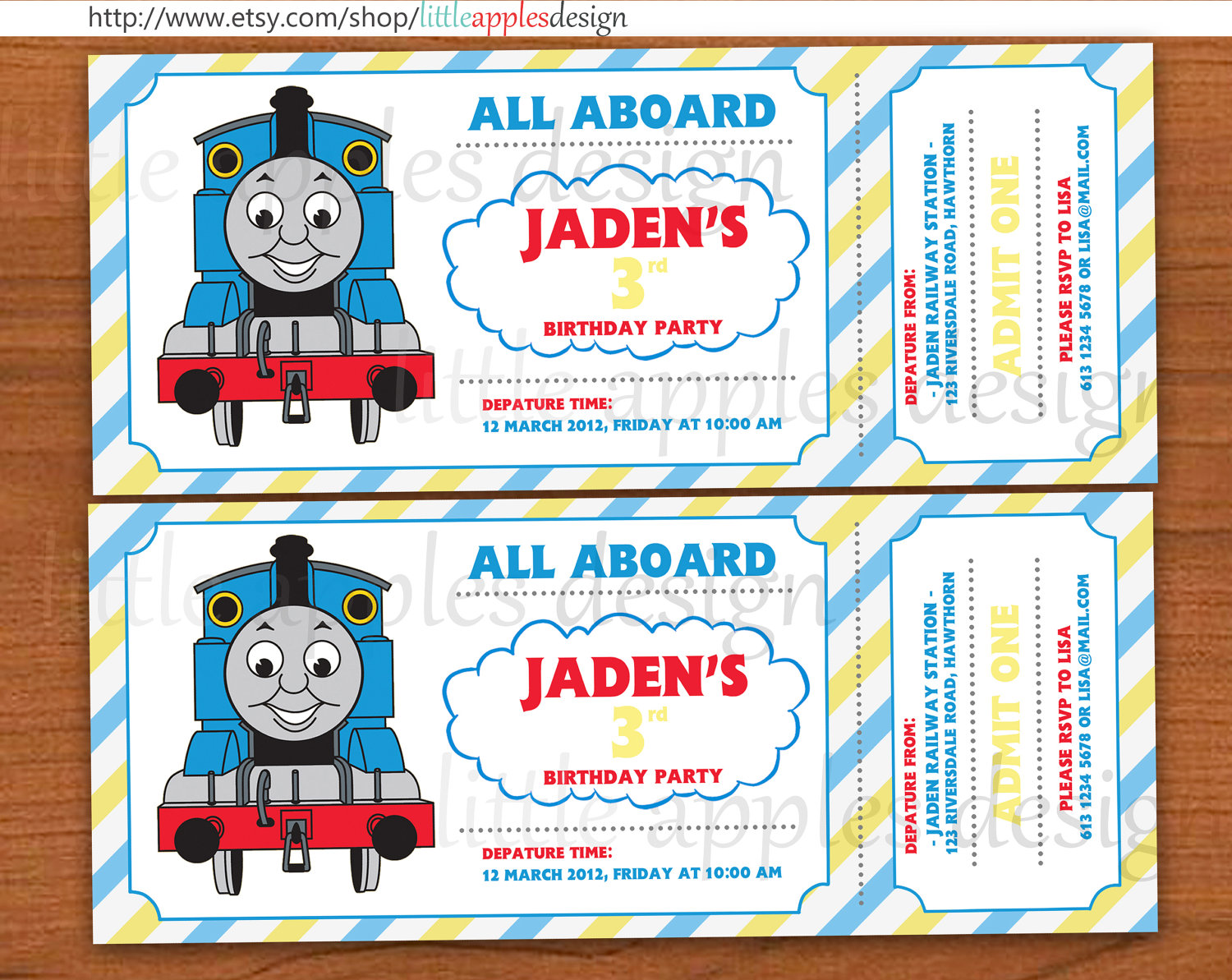 thomas and friends birthday invitation templates ; il_fullxfull