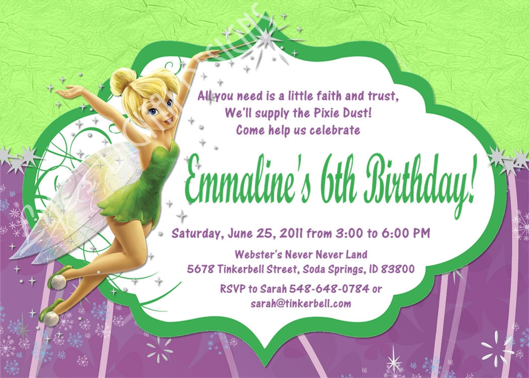 tinkerbell birthday invitation ideas ; tinkerbell-birthday-invitations-and-the-invitations-of-the-Birthday-Invitation-Templates-to-the-party-sketch-with-cool-idea-20