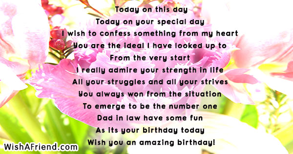 today is my birthday poem ; 15831-birthday-poems-for-father-in-law