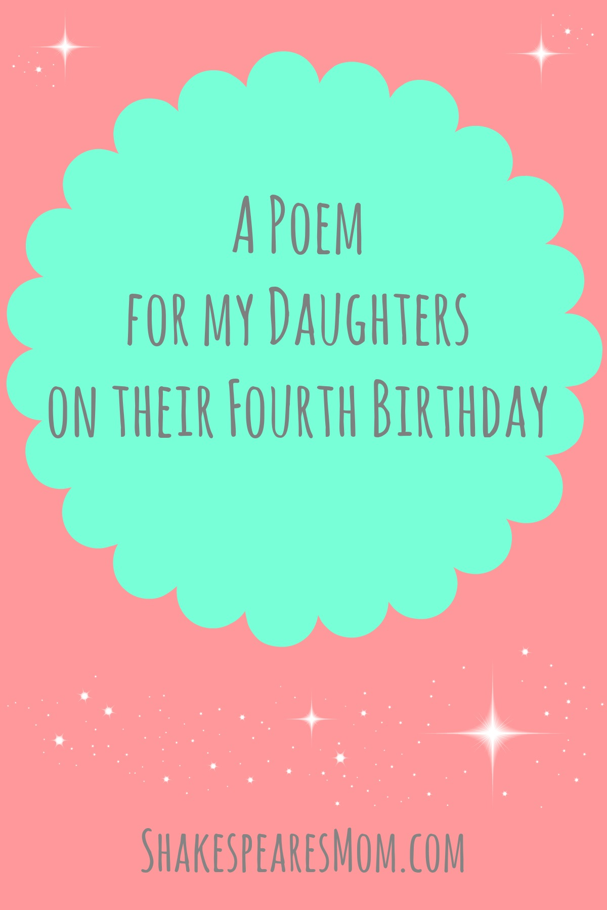 today is my birthday poem ; poem-for-my-daughters