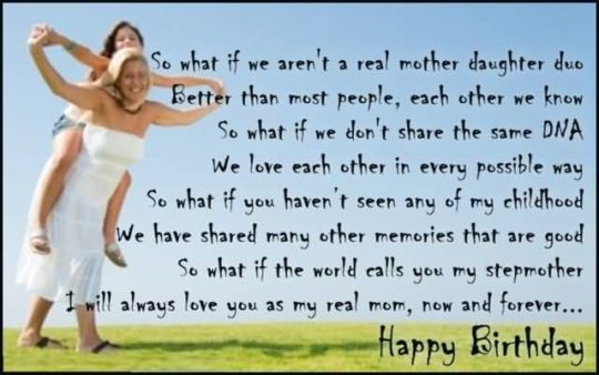 touching birthday message ; Heart-touching-Birthday-Wish-Poem-To-Mother-540x338