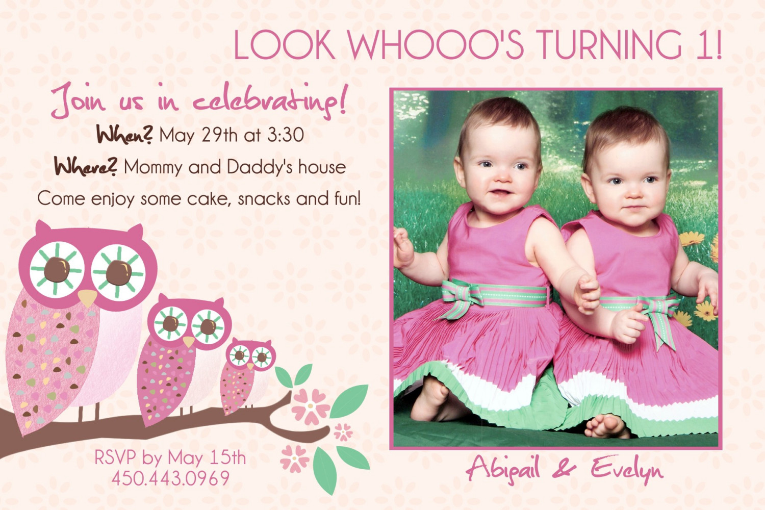twins first birthday picture ideas ; Mesmerizing-Twins-First-Birthday-Invitations-As-Prepossessing-Ideas-Birthday-Invitations