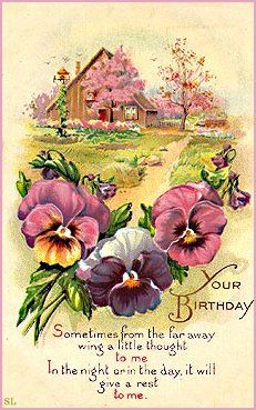 victorian birthday card images ; f698be41aaf3a70e00dc4086fc50a8c0