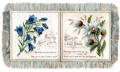 victorian birthday card images ; xp16_5