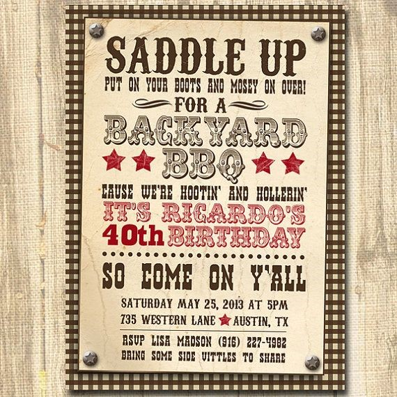 western birthday invitation wording ; Cool-Western-Party-Invitations-Which-You-Need-To-Make-Party-Invitation-Wording