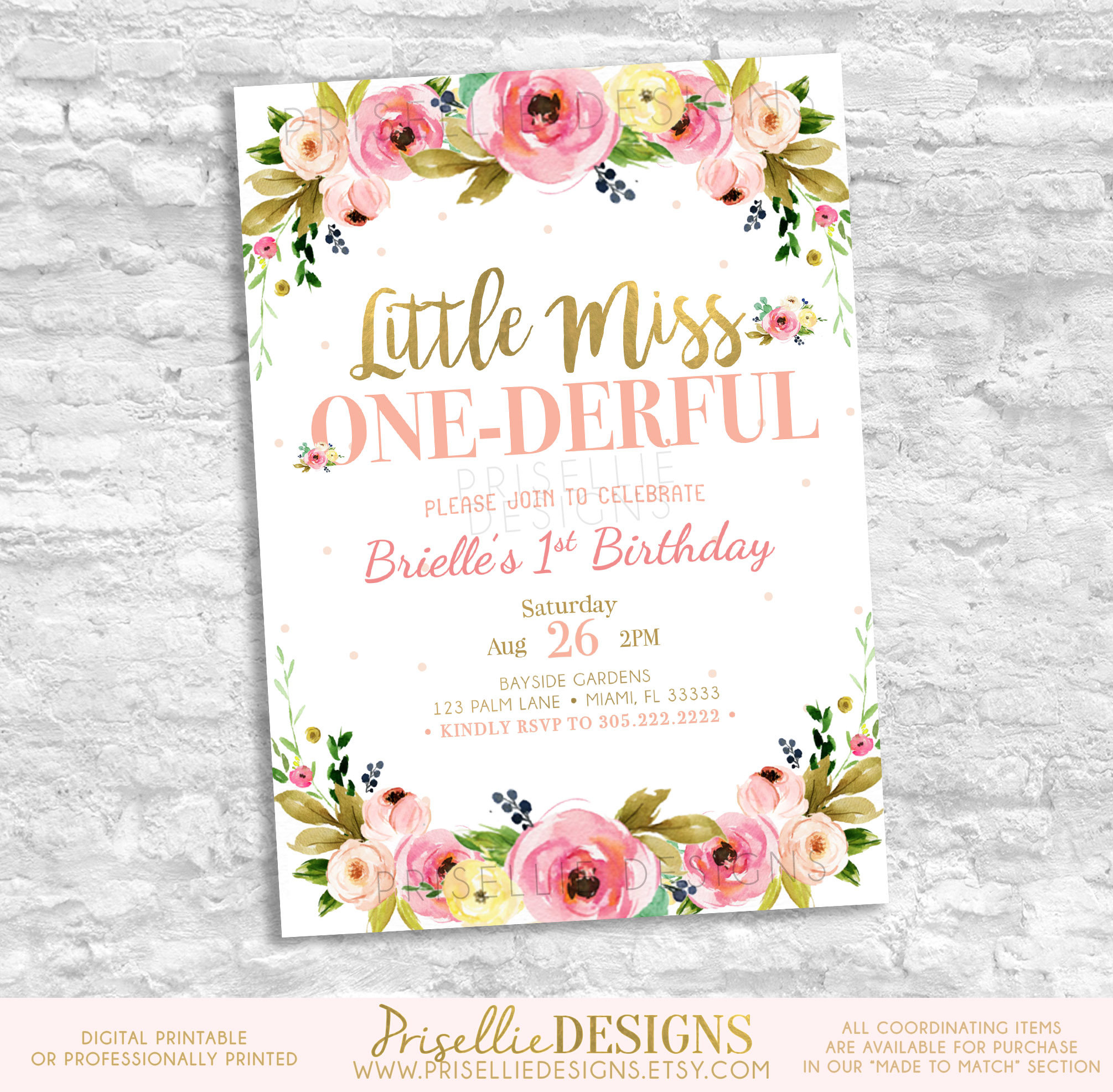 wild one birthday invitation template ; 18th-party-invitation-templates-a-wild-one-birthday-invitation-first-birthday-invitation-girl